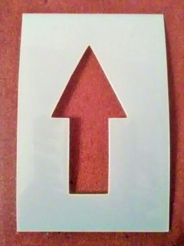 10 Inch Strait Arrow Symbol Stencil