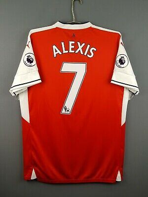 9fb58f54d 5/5 Alexis Arsenal jersey large 2016 2017 home shirt soccer football Puma  ig93