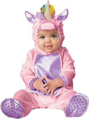 Pink Horse Costume (Little Pink Unicorn Mythical Horse Animal Infant)