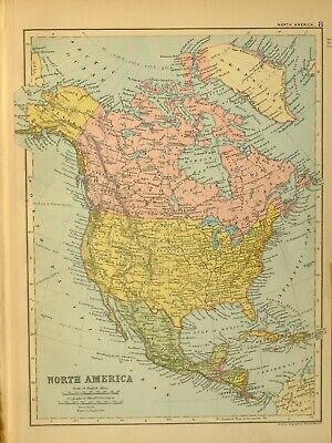 Cartina Costa Est Usa.Pre 1900 United States Canada North America Vatican
