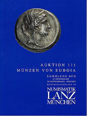 LANZ AUKTION 111 Katalog 2002 Euboia Sammlung Liga Histiaia Silber Bronze  ~