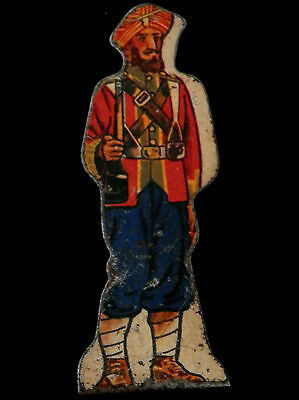MARX 1930's Tin SIKHS # 15 Foot Soldier British Indian Army