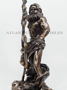 GREEK-ROMAN-KING-OF-THE-GODS-ZEUS-LIGHTNING-BOLTS-STRIKE-STATUE-FIGURINE-JUPITER