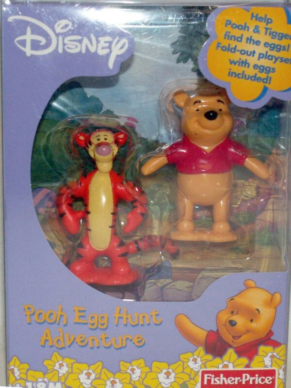 Winnie Pooh Tigger Easter Egg Hunt Adventure Fold Out Playset Figures Eggs