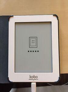 Original white kobo mini with cover London Ontario image 2