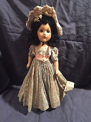 "Antique 1930s 15"" Composition Madame Alexander Scarlet O'Hara Doll! Amazing!"