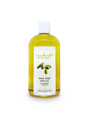 OLIVE OIL EXTRA VIRGIN ORGANIC CARRIER COLD PRESSED 100% PURE 4 OZ TO 1 GALLON