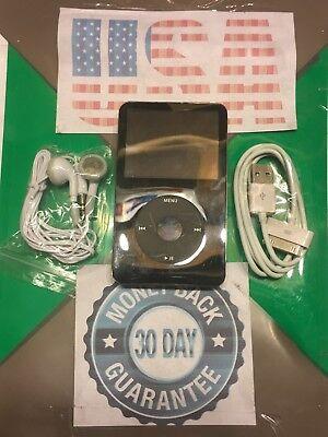 Apple iPod classic 5th Generation Enhanced Black (80 GB) New Battery