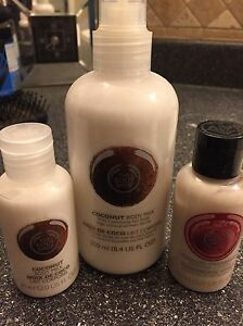 Body shop set of lotions $10