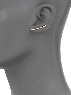 Ginette NY Solo Arc 18K Pink/Rose Gold Earring (Stud)