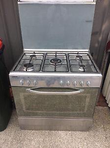 La Germania stainless steel 5 burner cooktop & oven Bexley Rockdale Area Preview