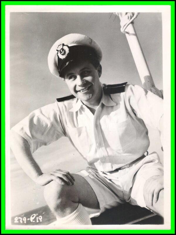 "PAUL CARPENTER in ""Doctor at Sea"" Original Vintage PORTRAIT 1955"