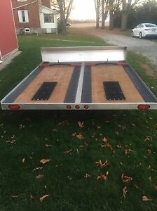 10ft Open Snowmobile Trailer London Ontario image 5