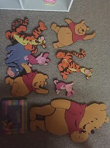 Winnie the Pooh bedroom accessories Strathcona County Edmonton Area image 1