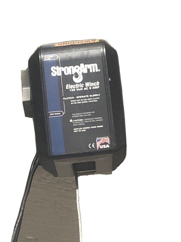 STRONGARM SA9015AC /CL 115V AC Pulling Electric Winch 3.5 fpm 2,700 lb 1st Layer
