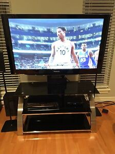 "Tv stand and 50"" plasma TV"