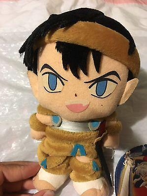 Inuyasha Kouga The Wolf Demon Koga Plush Rare Import Japan Used
