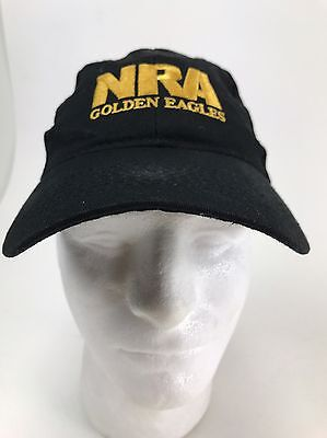 NRA Golden Eagles American Flag Hat Cap