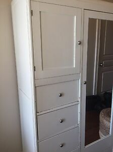 Antique armoire, hall cabinet