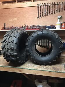 2 Swamp Lite ATV tires