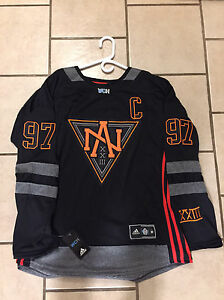 Team North America Connor McDavid Brand New Jersey