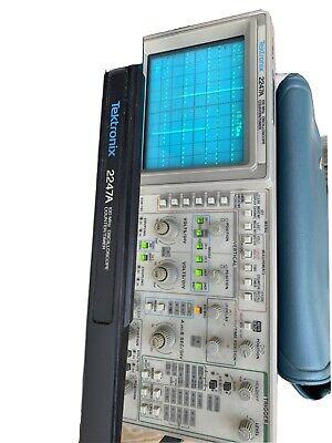 Tektronix 2247a 4 Channel 100mhz Analog Oscilloscope