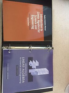 First year engineering textbooks and criminology textbook