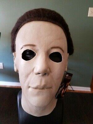 Halloween 2 Trick Or Treat Studios (Halloween 7 H2O Michael Myers Trick or Treat Studios Mask NWT Chris)
