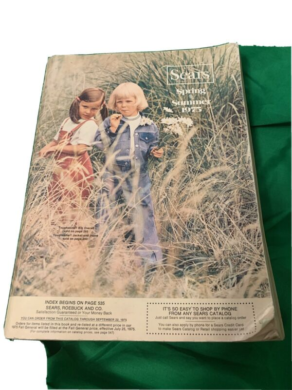 1975 Sears Spring and Summer Catalog Vintage