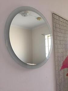Frameless mirror, no scratches, as new Rose Bay Eastern Suburbs Preview