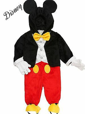 New Mickey Mouse Tuxedo Official Disney Costume Dress Up Toddler $24 -$28 - Mickey Mouse Dressed Up