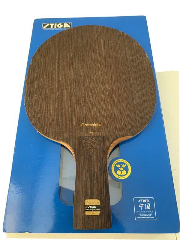 StigaNostalgic VII Ch.Pen CS Penhold 7ply Wood Table Tennis Blade