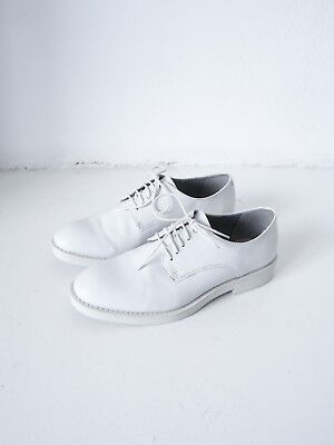 er schuhe oxford weiß / Leila leather shoes white 36 (Weiße Oxford-schuhe)
