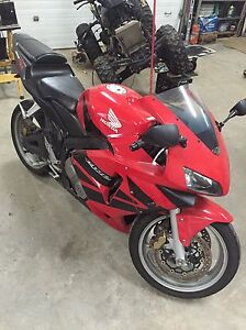 2004 Honda CBR 600RR trade for Winter Vehicle