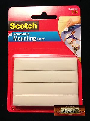 M01006 MOREZMORE Scotch 3M Adhesive Mounting Putty BJD Eye Beige 2 oz T20