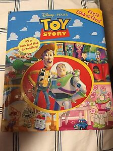 Toy story look and find book
