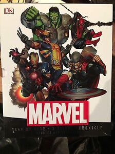 Marvel- A year by year Chronicle book Windsor Region Ontario image 1