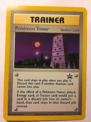 Pokemon Tower Stadium Promo  42 Pokemon Card  X2  New Never Played Condition