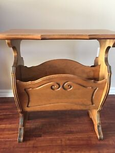 Lovely Antique Magazine Table