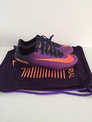 Nike Mercurial Vapor XI FG Soccer Cleats Purple Citrus 831958-585 Men