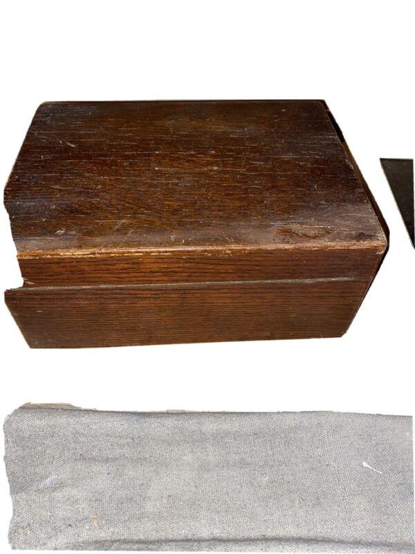 Handmade  wood Vintage Cigar Humidor-Mahogany or Oak