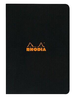 Rhodia Staplebound Notebook 3 X 4 34 Graph Black