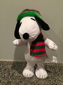 Snoopy Singing Animated Toy