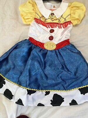 BNWT  Disney  Toy Story Jessie cowgirl Fancy Dress Costume aged 5-6 years