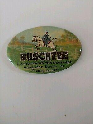 Buschtee A Carbonated Tea Beverage Anheuser Busch Inc. St Louis Mo. Mirror