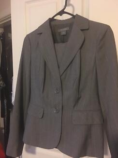 Ladies suit grey check - size 10