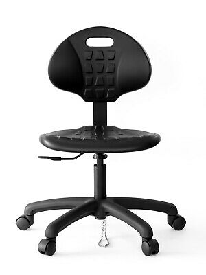 Anti Static Table Height Chair Stool 450lbs Capacity Laboratory Seating