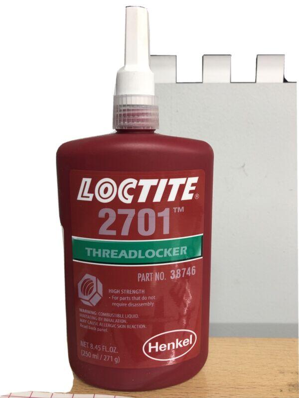 Loctite 2701 High Strength Oil Resistant 250 ml Thread Size upto M20 150°C S2u