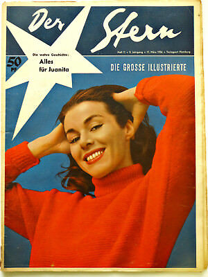 *Der Stern* Nr. 11/ 17.3.56 Dietrich, Magnani, Koch, Ufa-Story- 1950er Original