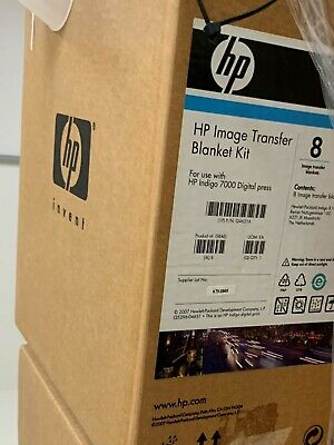 Lot Of 2 Boxes Of 8hp Indigo 7000 Image Transfer Blanket  Q4621a